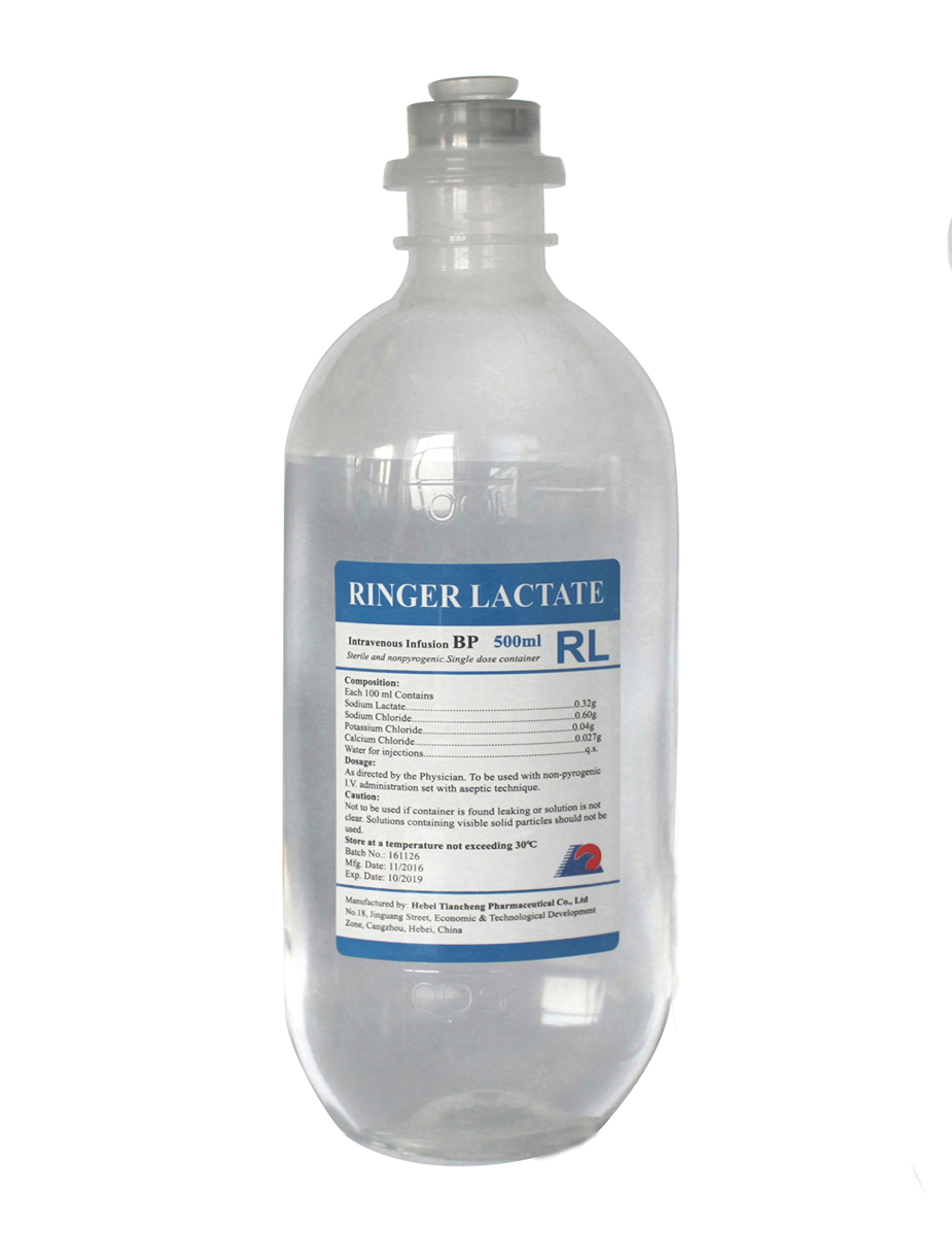 RINGER LACTATE INJECTION 500ML